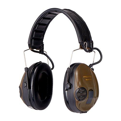 Gehörschutz Lärmschutzköpfhörer Kapselgehörschutz : 3M Peltor SportTac Gehörschutz – für Jäger & Sportschützen